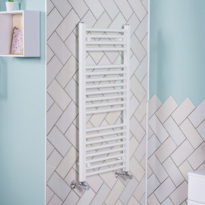Bergen Towel Radiator 970 x 450 White
