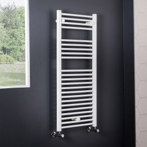Essentials Towel Radiator 1100 x 500 - White