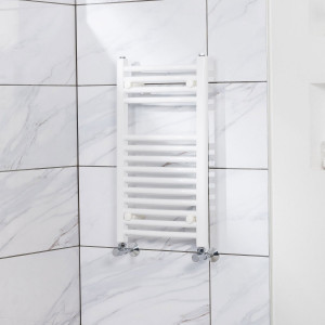 Fjord Towel Radiator 700 x 400 White