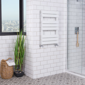 Juva Towel Radiator 800 x 500 - White