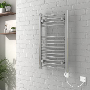 Electric Heated Thermostatic Towel Rail