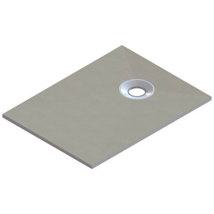 Aquariss 1200 x 900mm Wet Room Square Shower Tray