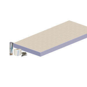 Aquariss Wet Room Waterproofing Wall Kit 4.32 sqm
