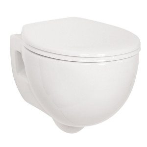 Energise Wall Hung Toilet Pan with Soft Close Seat