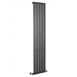Karlstad 1800 x 376mm Sand Grey Single Flat Panel Vertical Radiator
