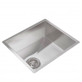 Valle Vancouver 394 x 440mm Single Bowl Undermounted Kitchen Sink - Stainless Steel