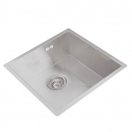 Valle Vancouver 440 x 440mm Single Bowl Undermounted Kitchen Sink - Stainless Steel