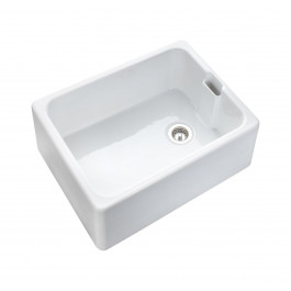 Rangemaster Farmhouse 595 x 455mm Single Bowl Belfast Kitchen Sink - Ceramic