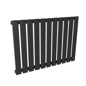 Karlstad 600 x 828mm Sand Grey Single Flat Panel Horizontal Radiator
