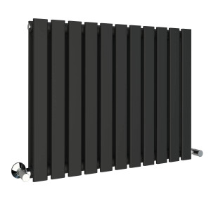 Karlstad 600 x 828mm Sand Grey Double Flat Panel Horizontal Radiator