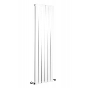 Karlstad 1600 x 458mm White Double Flat Panel Vertical Radiator
